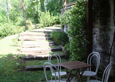 ladders garden