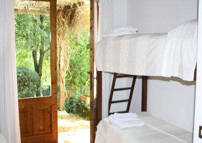bedroom top floor two beds